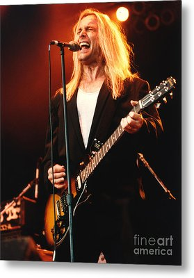 Cheap Trick-95-robin-2 Metal Print by Gary Gingrich Galleries