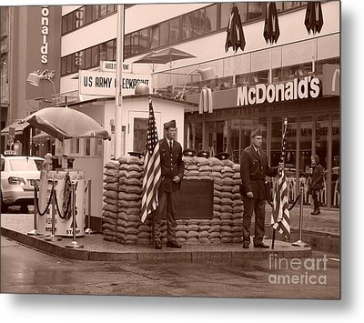 Check Point Charlie Metal Print