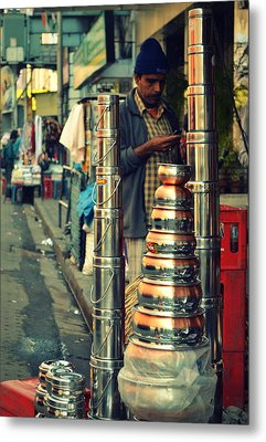 Metal Print featuring the photograph Check This Out by Rima Biswas