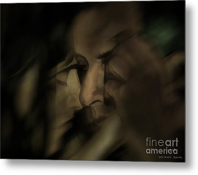 Cheek To Cheek Metal Print