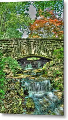 Cheekwood Bridge Metal Print by Zachary Cox