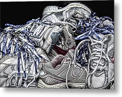 Cheer You On Metal Print by John Crothers