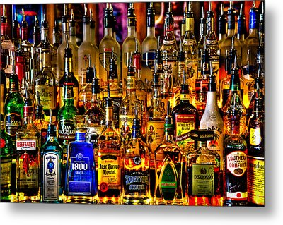Cheers - Alcohol Galore Metal Print by David Patterson