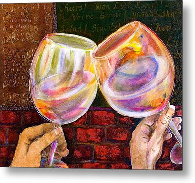 Cheers Metal Print by Debi Starr