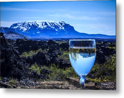 Cheers To Iceland Metal Print
