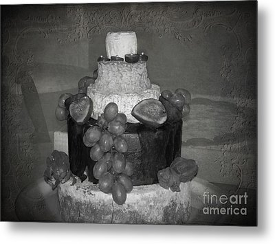 Cheesey Wedding Cake Metal Print by Michelle Orai