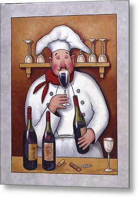 Chef 1 Metal Print by John Zaccheo