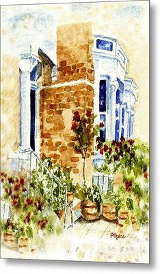 Chelsea Row Metal Print by Paula Ayers