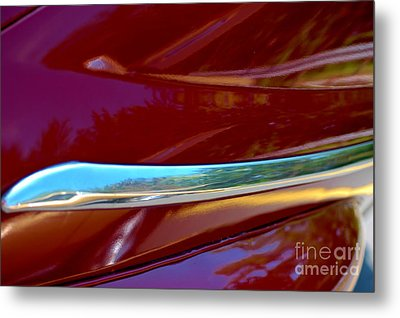 Metal Print featuring the photograph Cherry Bling Bling by Christiane Hellner-OBrien