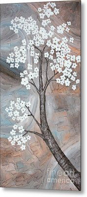 Cherry Blossom Metal Print by Home Art