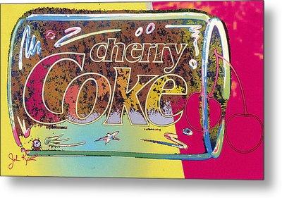 Cherry Coke 5 Metal Print by John Keaton