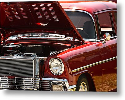 Metal Print featuring the photograph Cherry Red by Tammy Schneider