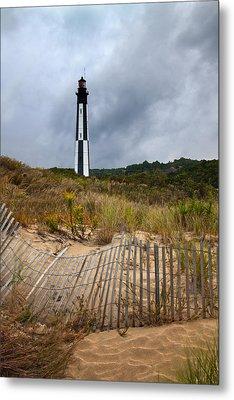 Chesapeake Lighthouse Metal Print by Regina  Williams