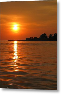 Chesapeake Sun Metal Print by Photographic Arts And Design Studio