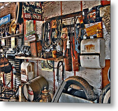 Metal Print featuring the photograph Chester's Wall by Lee Craig