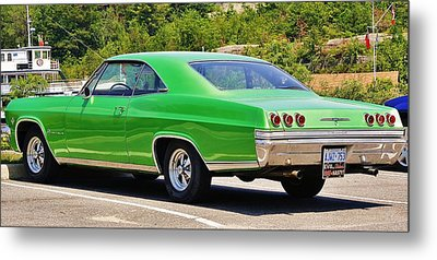 Metal Print featuring the photograph Chev Impala by Al Fritz