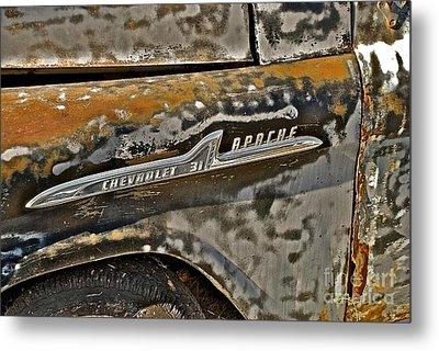 Chevrolet Apache Metal Print