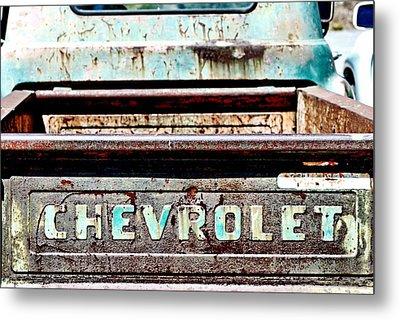 Chevrolet Metal Print by Bob Wall