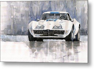 Chevrolet Corvette C3 Metal Print by Yuriy  Shevchuk