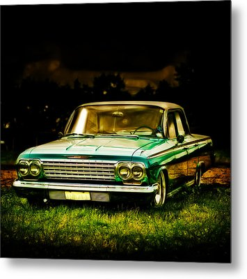 Chevrolet Impala Metal Print by motography aka Phil Clark