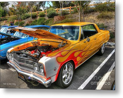 Chevrolet Malibu Ss Metal Print by Kevin Ashley