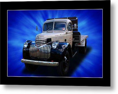 Metal Print featuring the photograph Chevrolet Maple Leaf Truck by Keith Hawley