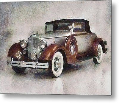 Chevrolet Master Sport Coupe Metal Print by Georgi Dimitrov