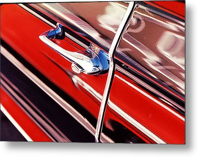 Metal Print featuring the photograph Chevy Or Caddie? by Ira Shander