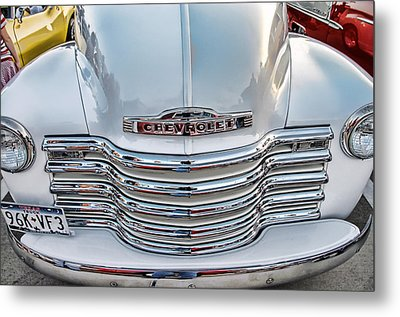Metal Print featuring the photograph Chevy Pickup Classic by Dyle   Warren