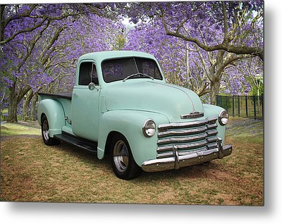 Metal Print featuring the photograph Chevy Pickup by Keith Hawley