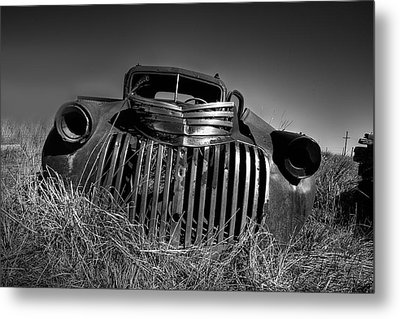 Chevy Pickup Metal Print by Peter Tellone