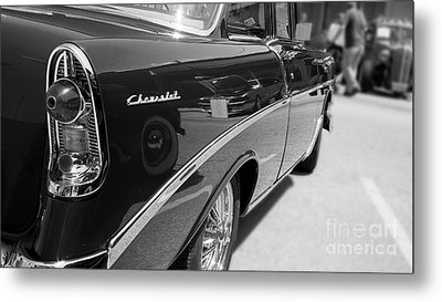 Chevy Reflections Metal Print
