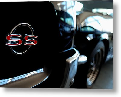 Chevy Ss - Leading The Pack Metal Print by Steven Milner