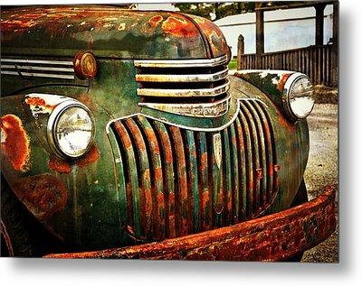 Chevy Truck Metal Print by Marty Koch