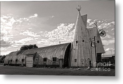Cheyenne Wyoming Teepee - 02 Metal Print by Gregory Dyer