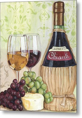 Chianti And Friends Metal Print