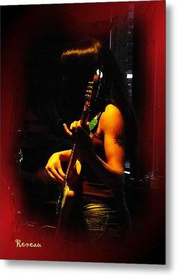 Chic Bassist Metal Print