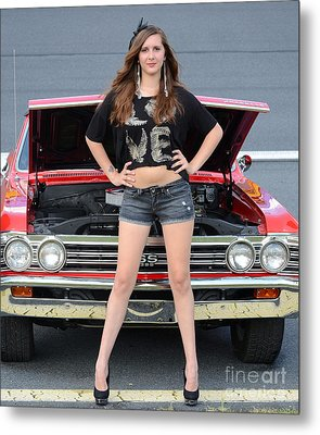 Chic Chevelle Metal Print by Mark Spearman
