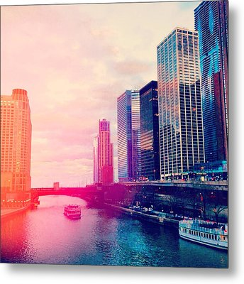 Chicago #1 Metal Print by Stacia Blase