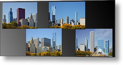 Chicago City Of Skyscrapers Metal Print