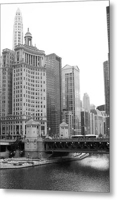 Chicago Downtown 2 Metal Print by Bruce Bley