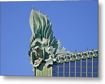 Chicago - Harold Washington Library Metal Print