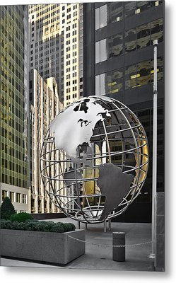 Chicago - Home Of Fine Art Metal Print by Christine Till