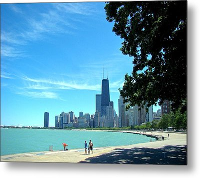 Chicago Lake Front Metal Print