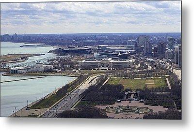 Chicago Landmarks Metal Print by Robert Joseph