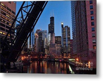 Chicago Loop Metal Print by Jeff Lewis