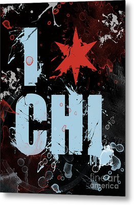 Chicago Love Metal Print