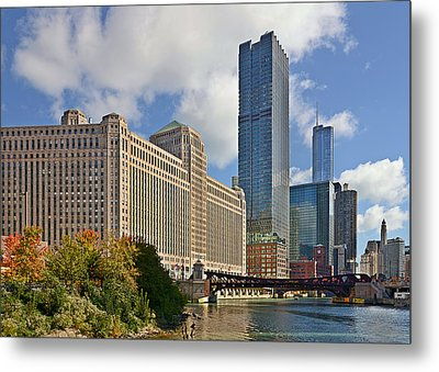 Chicago Merchandise Mart Metal Print by Christine Till