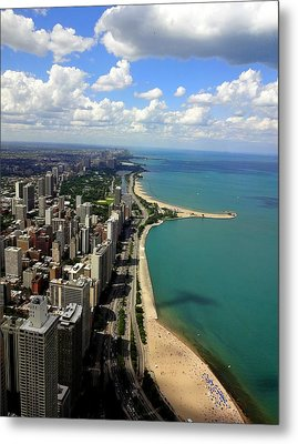 Chicago On The Lake Metal Print