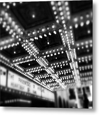 Chicago Oriental Theatre Lights Metal Print